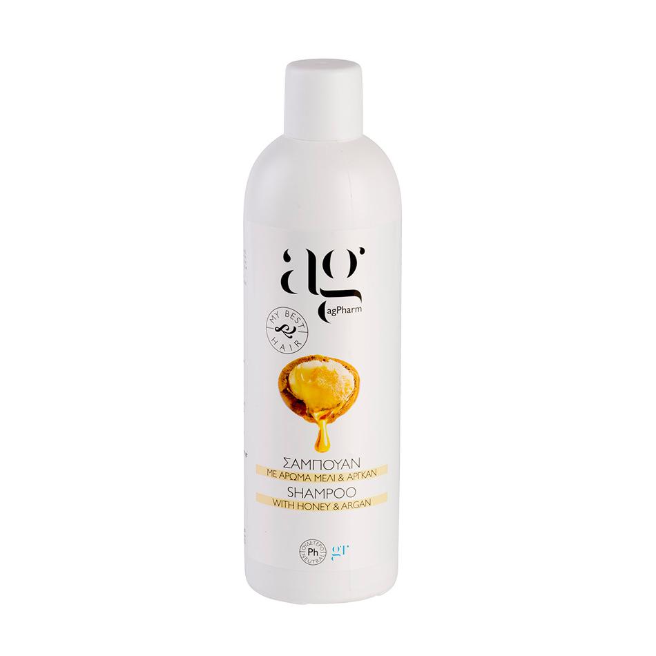 Μέλι & Αργκάν Shampoo 500ml